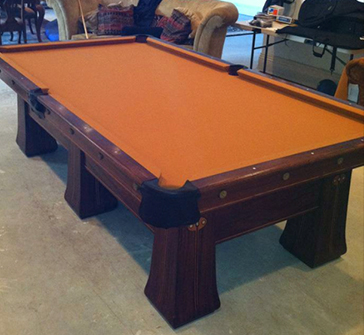 Our Pool Table  Service
