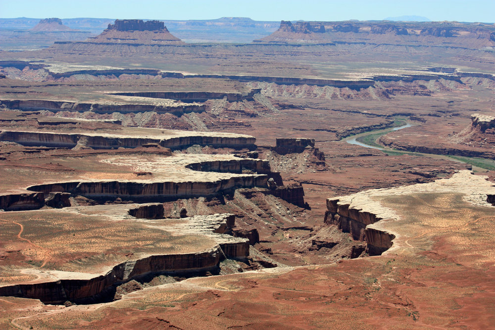 View of Canyonlands from Island-in-the-Sky