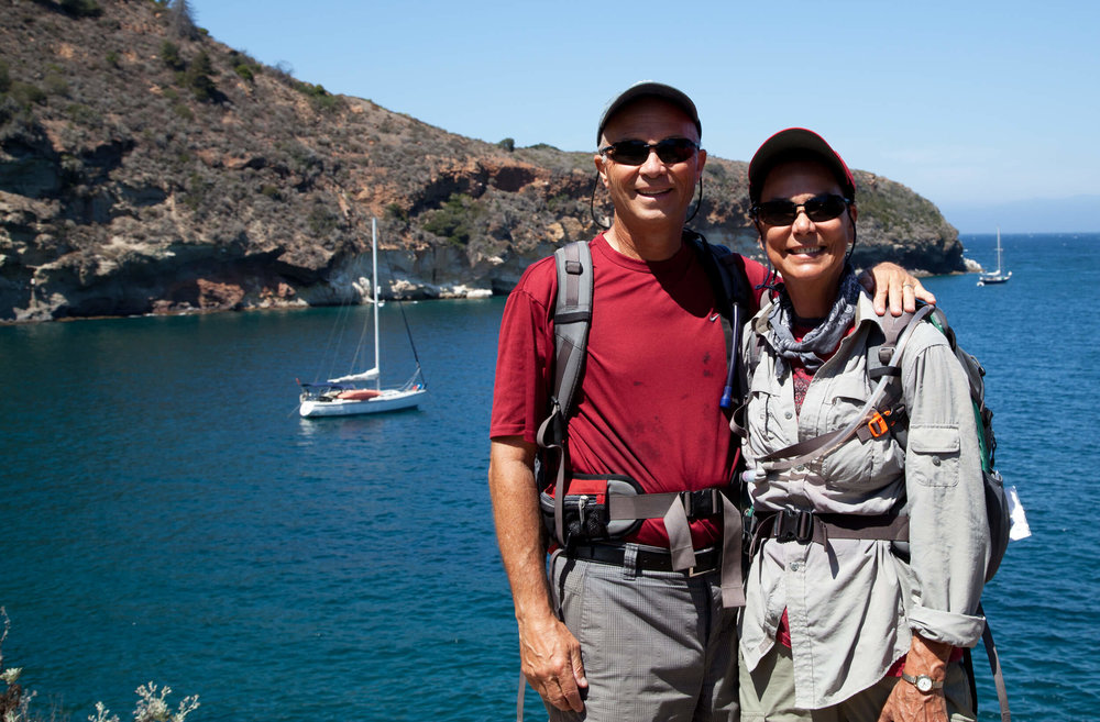 Trekking the Channel Islands...our park visit  #40 .