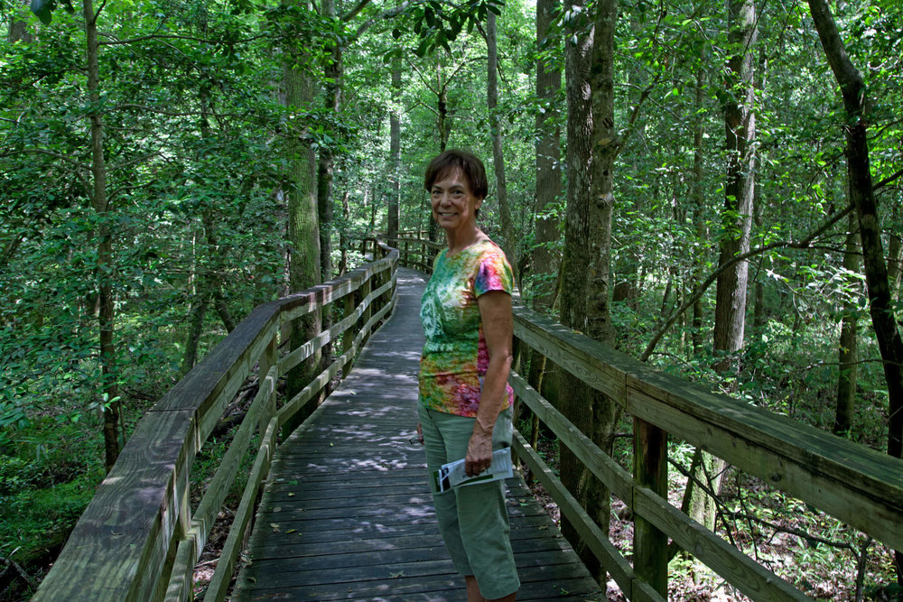 Trekking Congaree...our park visit  #46.