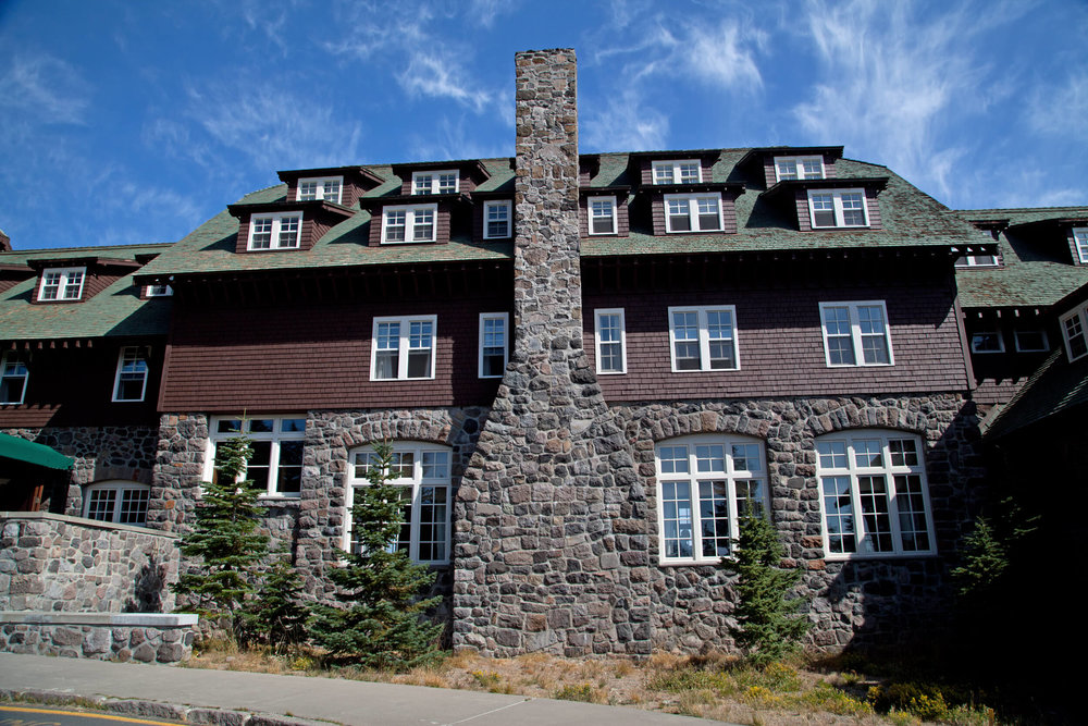 Crater Lake Lodge . One of the 16 Great Lodges of the National Parks.