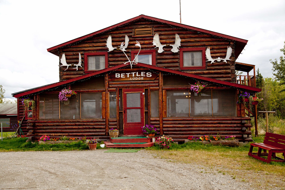 Bettles Lodge just outside Gates of the Arctic National Park boundaries.