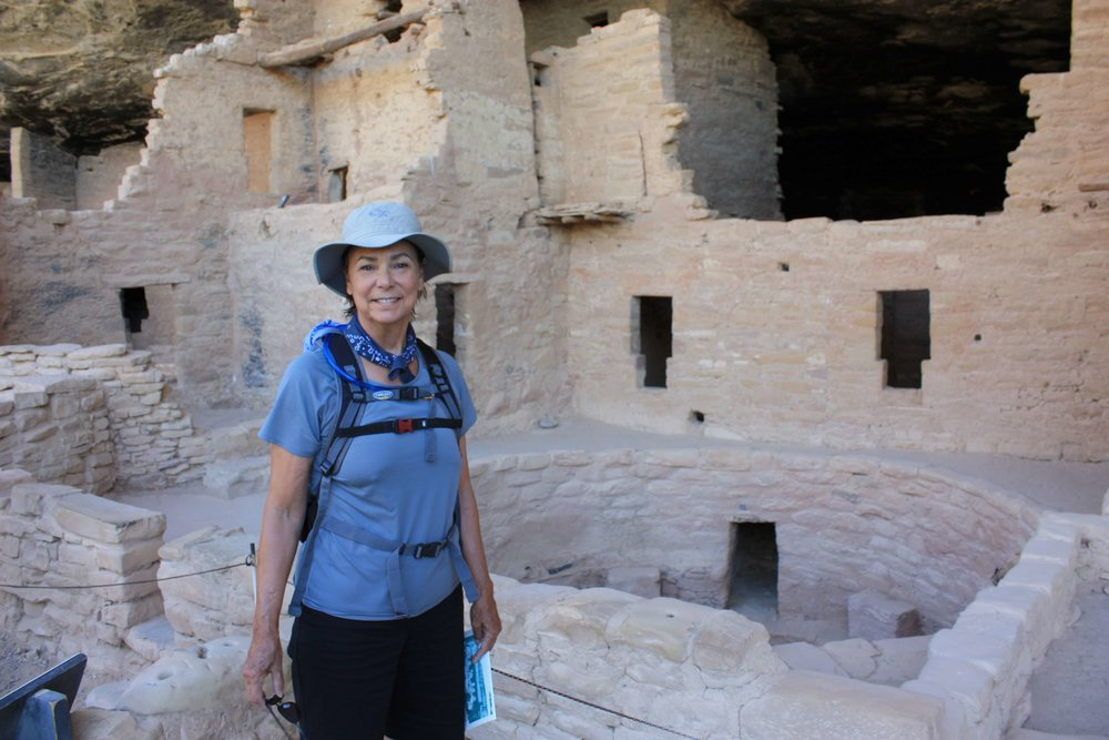Trekking the ruins at Mesa Verde. Park visit  #11 .