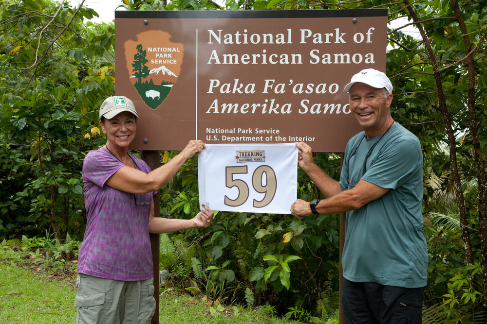 We completed or goal of visiting all 59 major National Parks on September 19, 2017!
