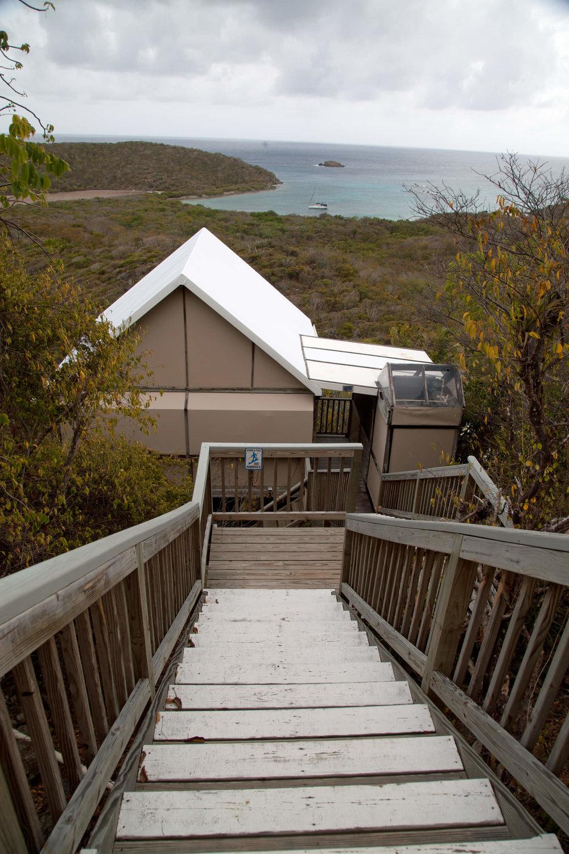 Our Eco-Cabin at the Concordia Eco-Lodge.