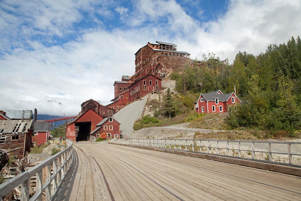 The historic Kennecott Mine