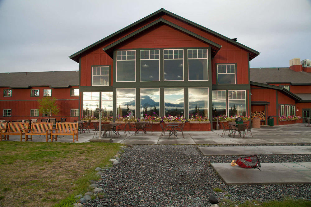 """Copper River Princess Lodge - our """"campsite"""" during our Wrangell trek."""