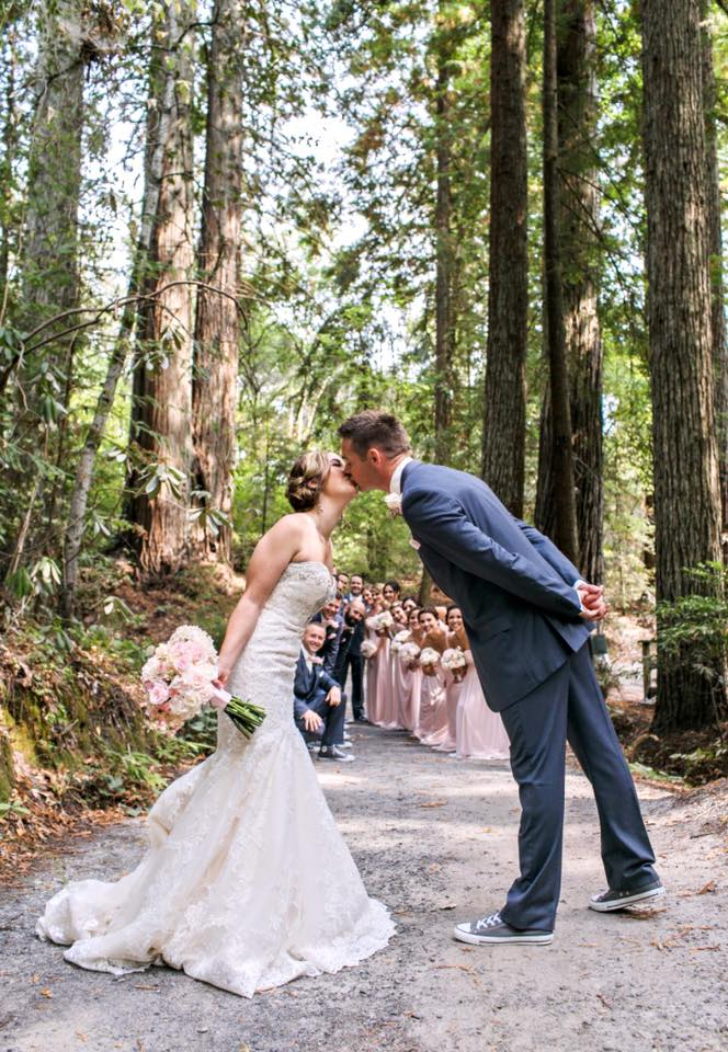 Stacy and Elliott at Griffith Woods | Photography by Marissa Kay