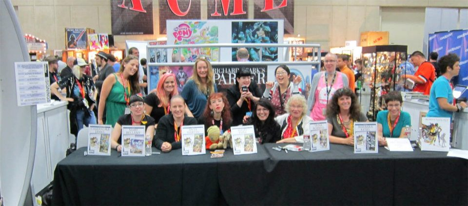 Womanthology (IDW) Signing San Diego Comic Con