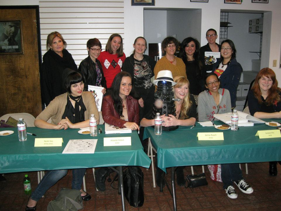 """Womanthology"" (IDW) signing in Burbank"