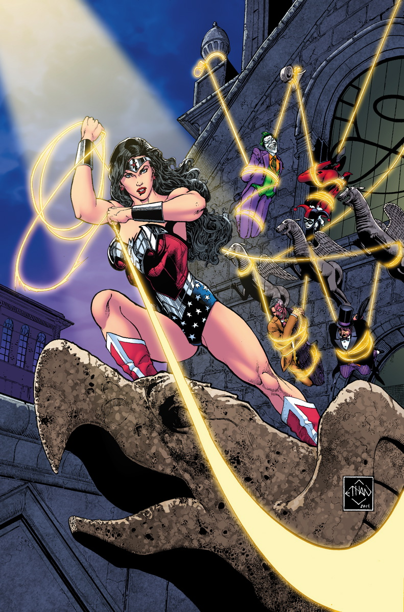 Cover Art by Ethan Van Sciver