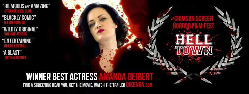 """Hey Look! I won """"BEST ACTRESS"""" at the Crimson Screen Film Festival!"""