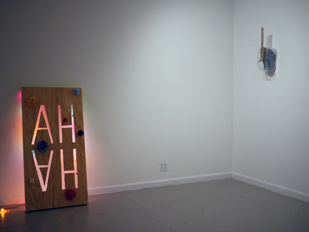 Lizzie Wright and Mike Hein. Installation View.