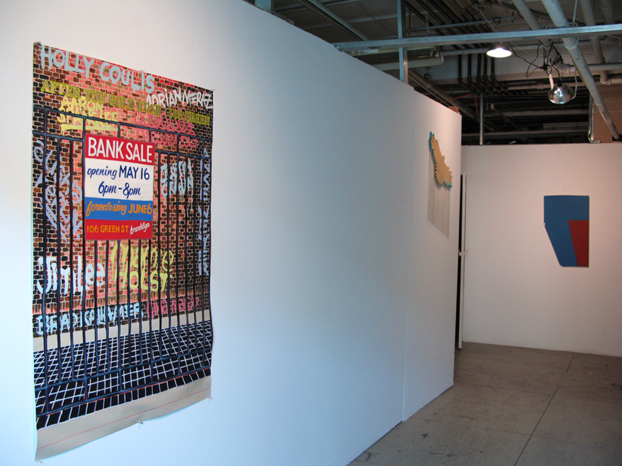 Installation View. Tom Sanford, Gina Magid, Jim Lee.