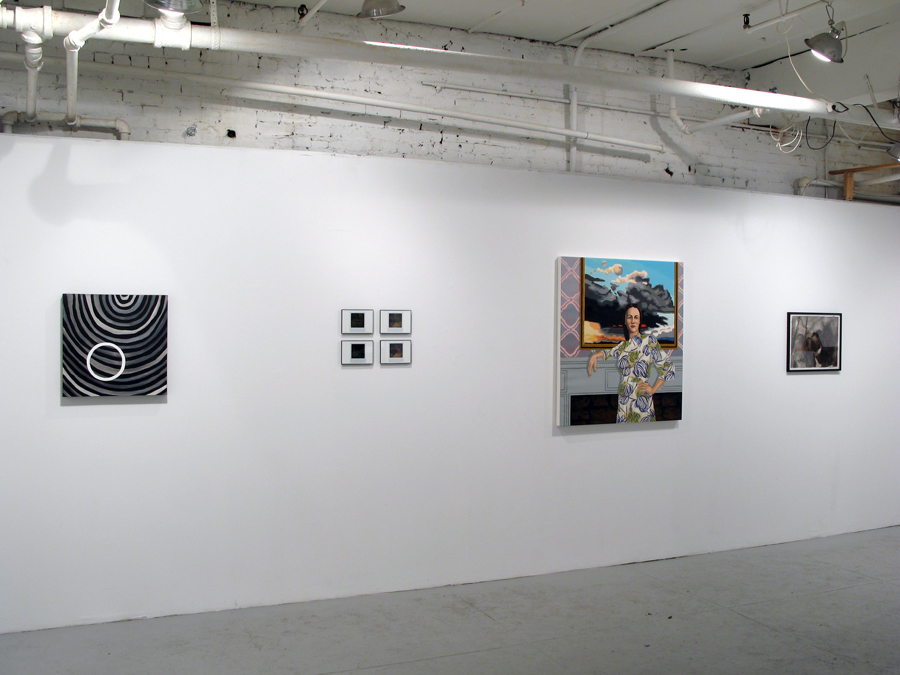 Installation View. Mamie Holst, Alisha Kerlin, Holly Coulis and Anke Weyer.