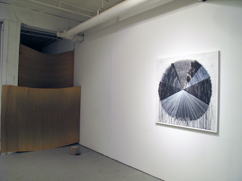 Installation View.  Esther Kläs and Davina Semo.