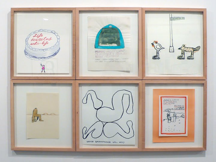 Fernando Renes.  Drawings.  6 framed drawings  each 16.875 inches x 18.375 inches  1998-2010