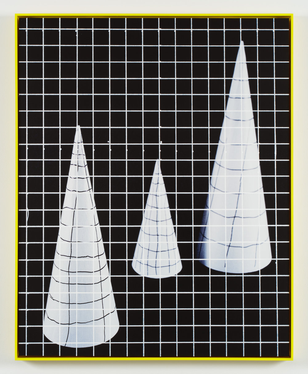 Space-time Cones   Archival Inkjet Print  32 x 40 inches  edition of 3 + AP  2016