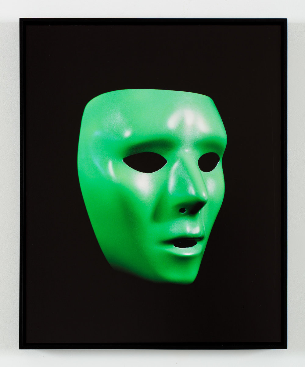 Mask   Archival Inkjet Print  19.2 x 24 inches  edition of 5 + AP  2016