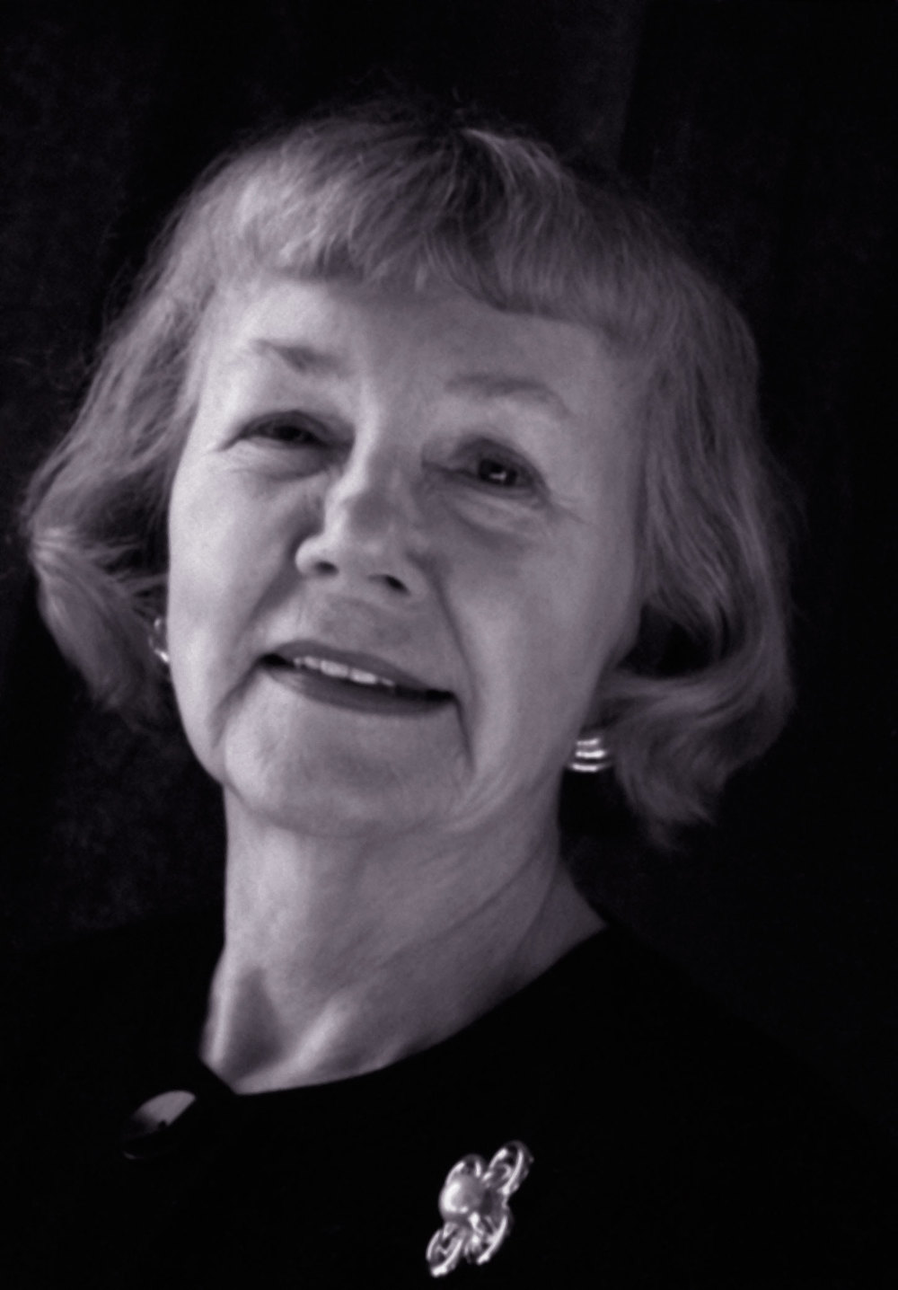 Betty Eichenberger Adams (1931–2013), photo courtesy David Eichenberger.