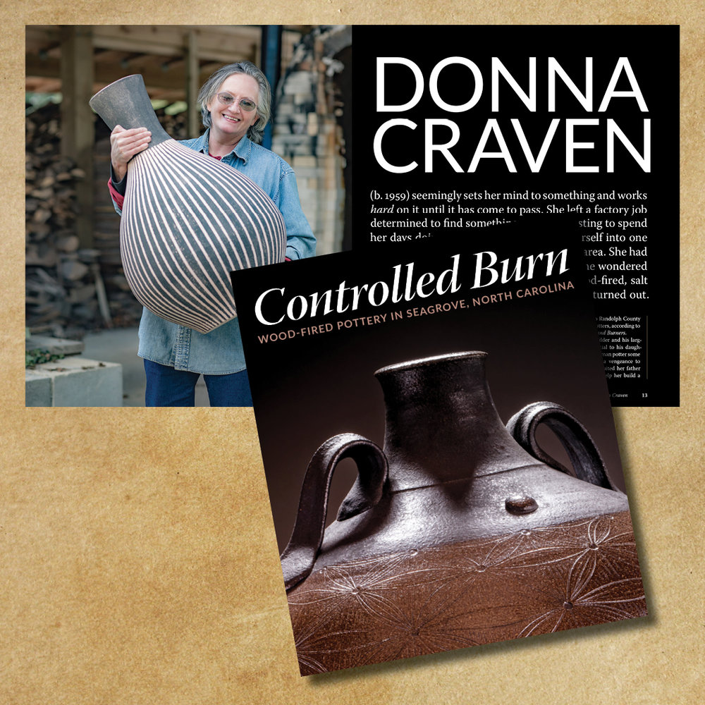 Donna Craven (b. 1959) left a factory job determined to find something more interesting to spend her days doing. Sixteen long, hard years later, she's mastered the art of studio pottery.