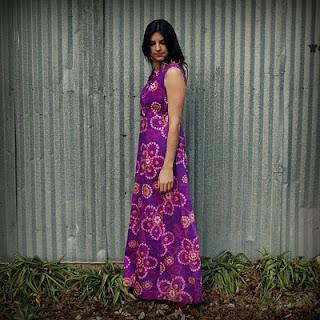 Dalena Vintage Maxi Dress