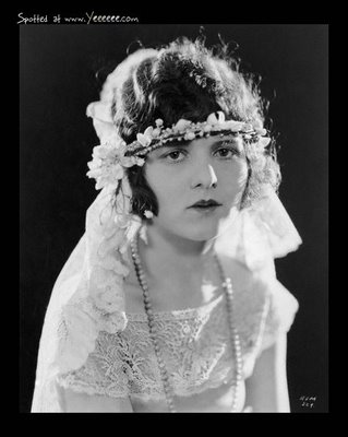 1920s bridal portrait