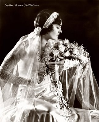 1920s wedding fashion