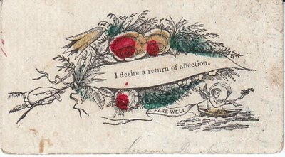 Antique calling cards