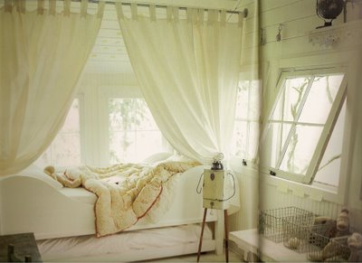 Peaceful bedroom
