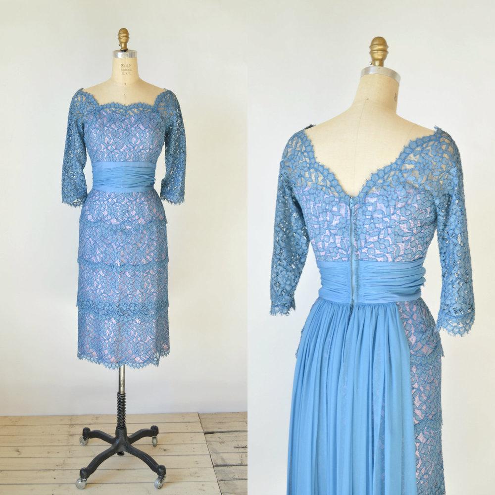 Shop vintage vintage spring dresses vintage clothing for Wedding dress cleaning austin