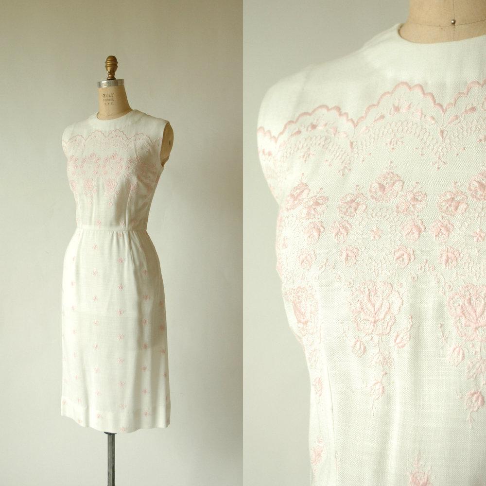 Shop vintage vintage spring dresses vintage clothing for Vintage wedding dresses austin