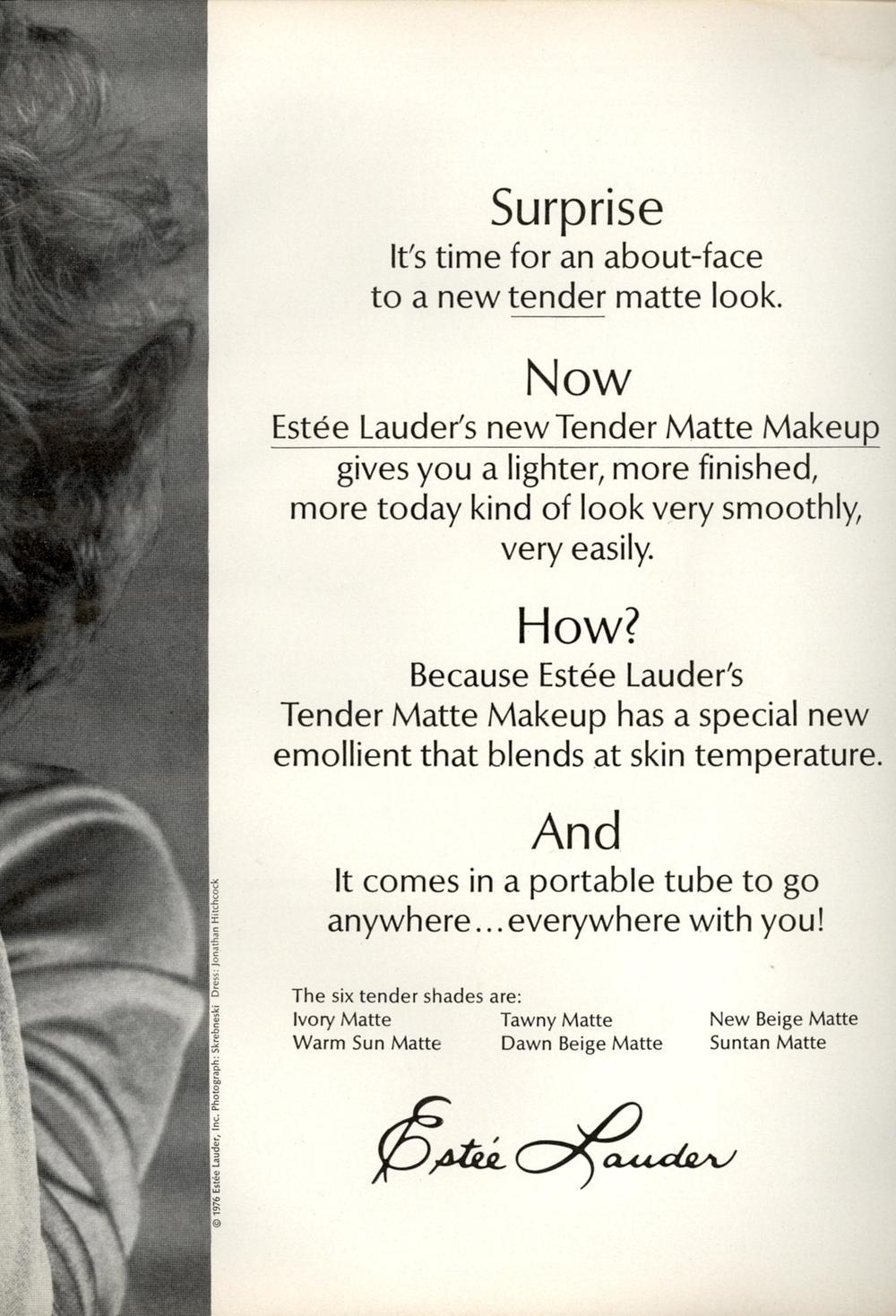 Vintage Estee Lauder Ad