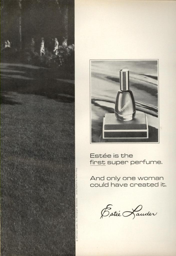 1970s Estee Lauder Ads