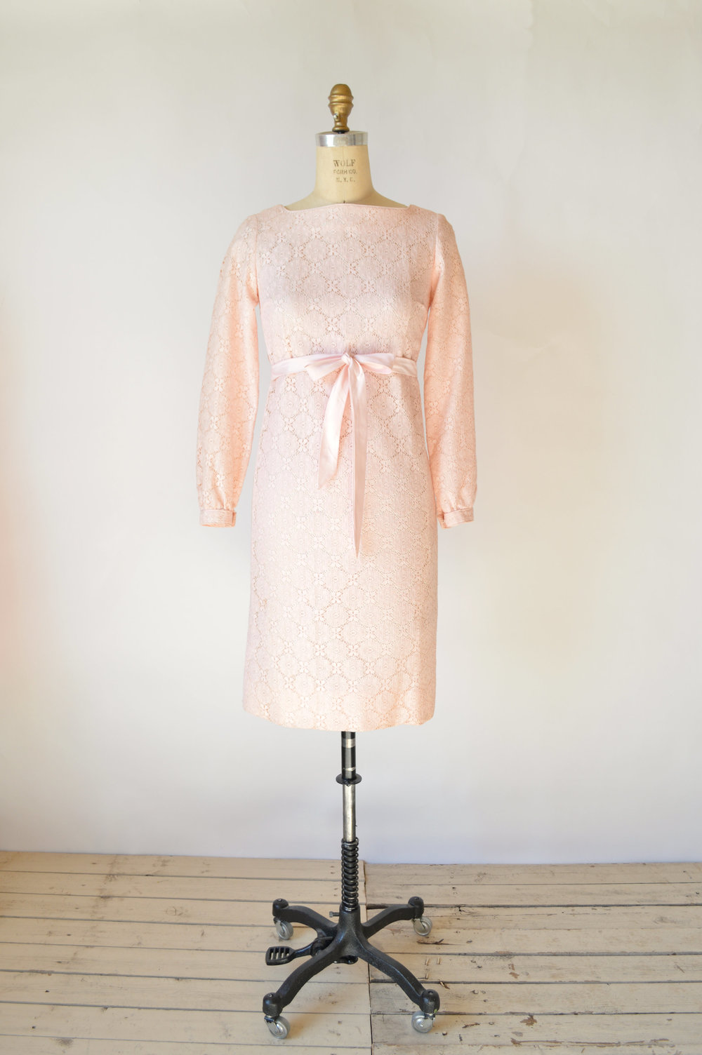 1960s Bridesmaid Dress