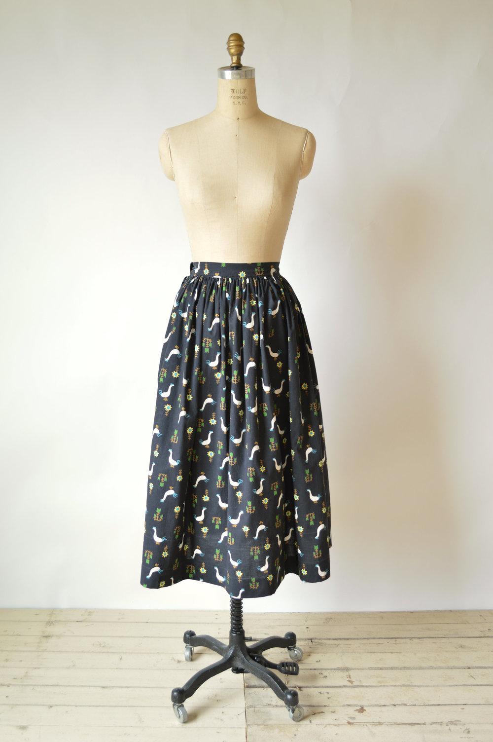 Vintage Cotton Skirt