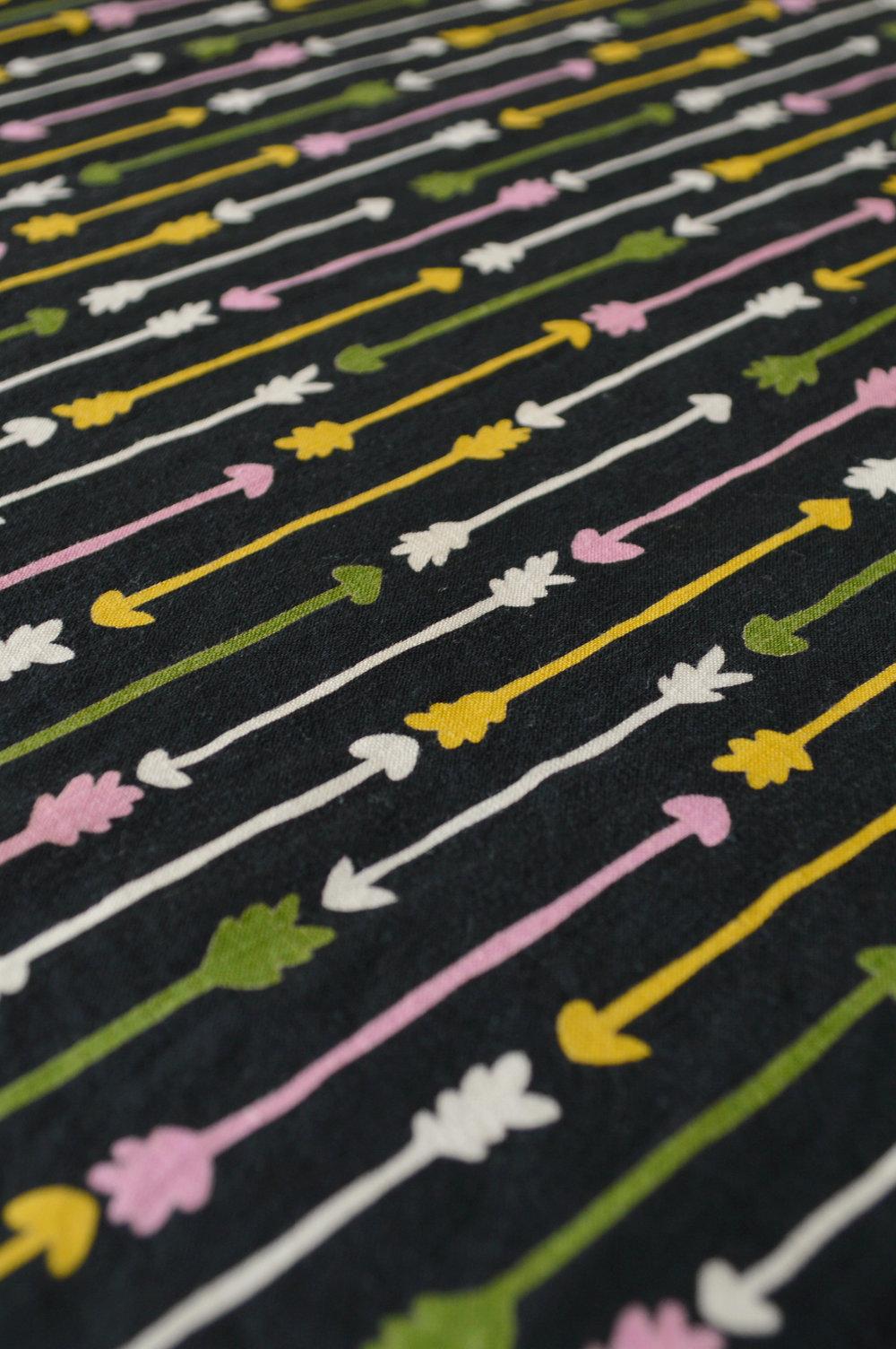 Vintage Arrow Print Skirt