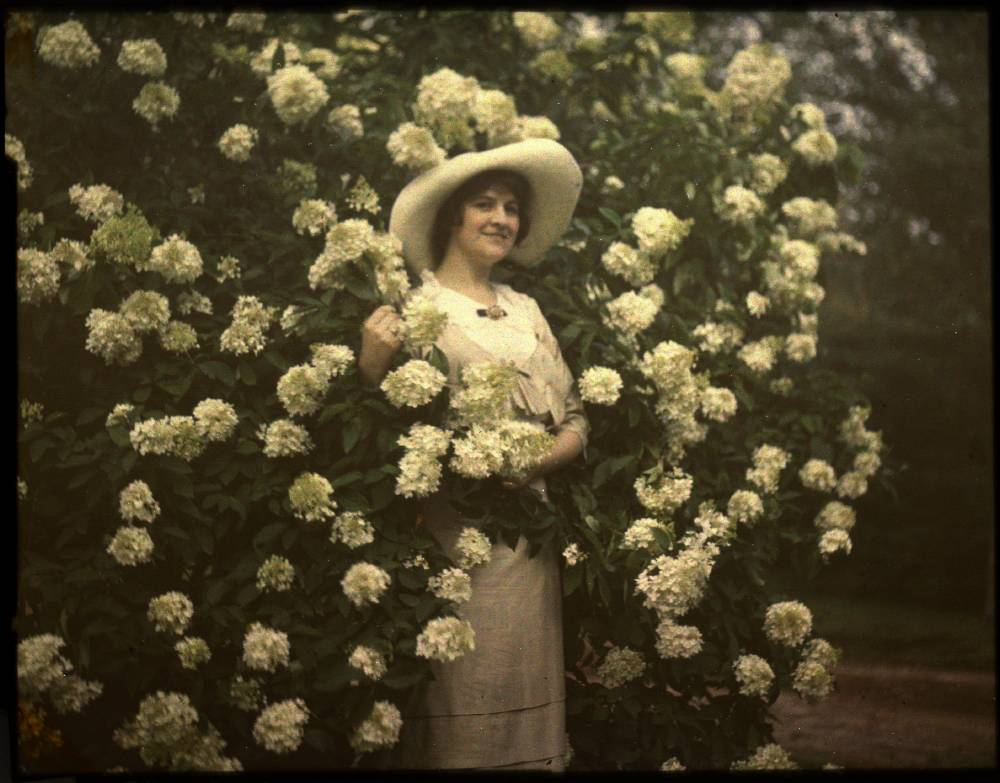 Vintage Autochrome Photo via George Eastman House