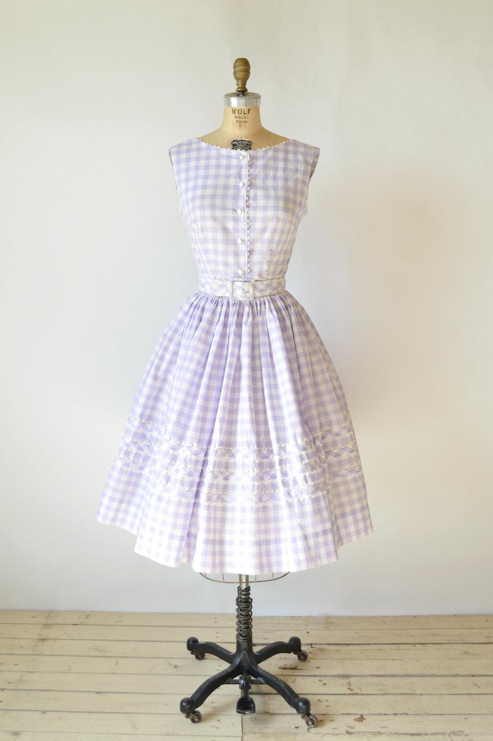 Vintage Summer Dress
