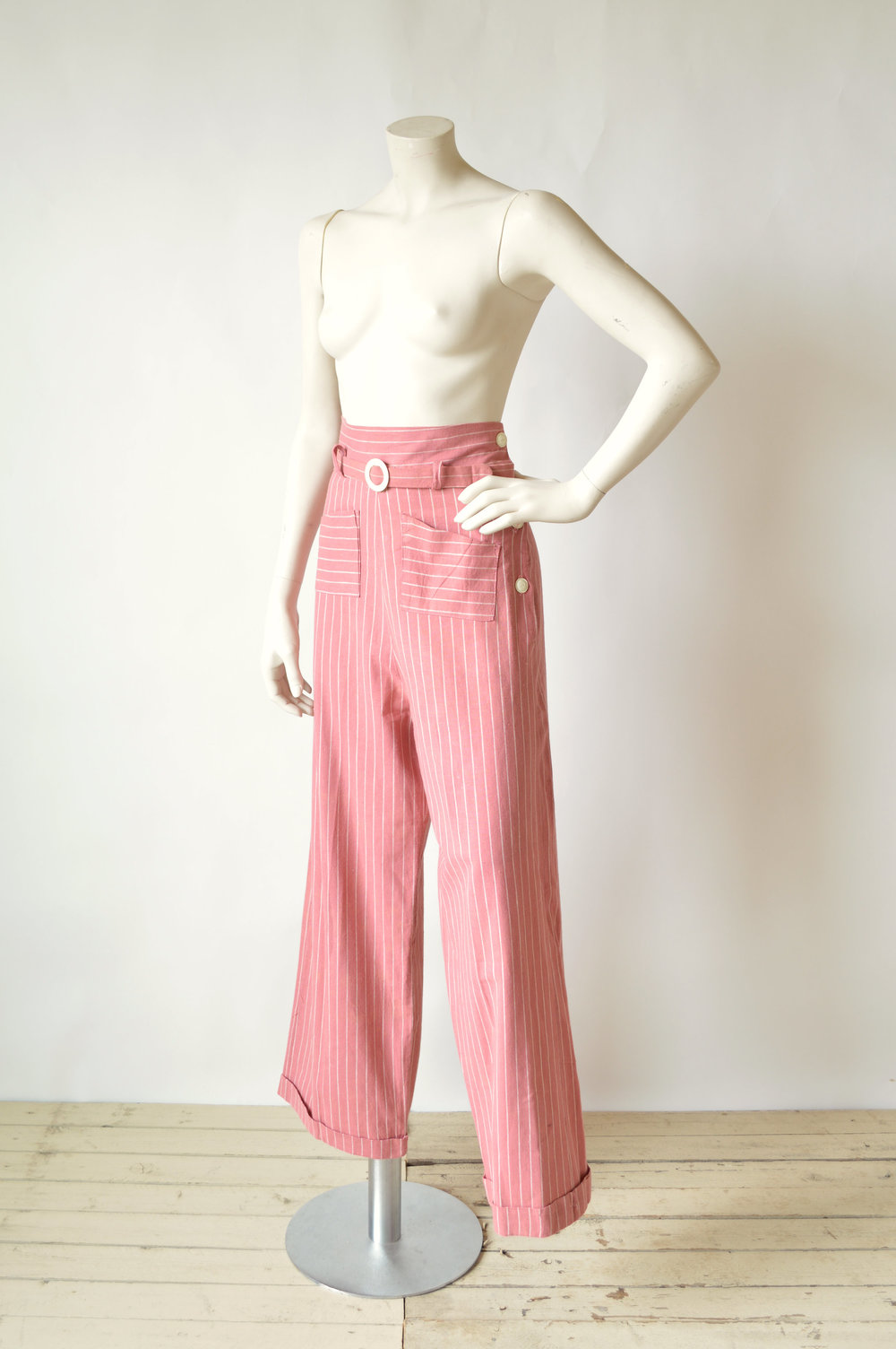1940s Burma Suiting Work Pants