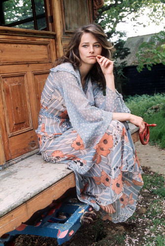 Vintage style icon, Charlotte Rampling