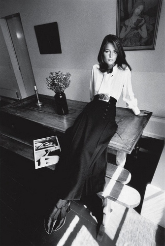 Fashion icon, Charlotte Rampling