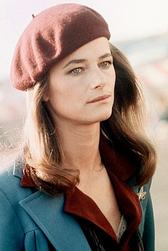 Vintage style icon, Charlotte Rampling, 1970s
