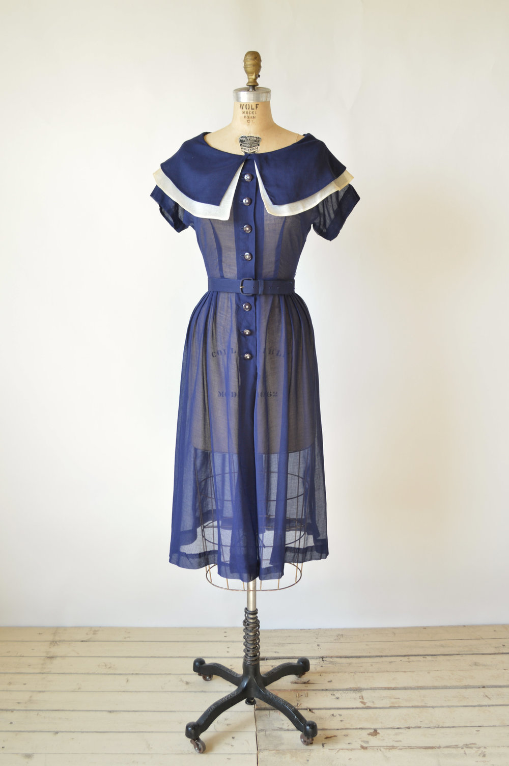 1940s Oxford Breeze Dress