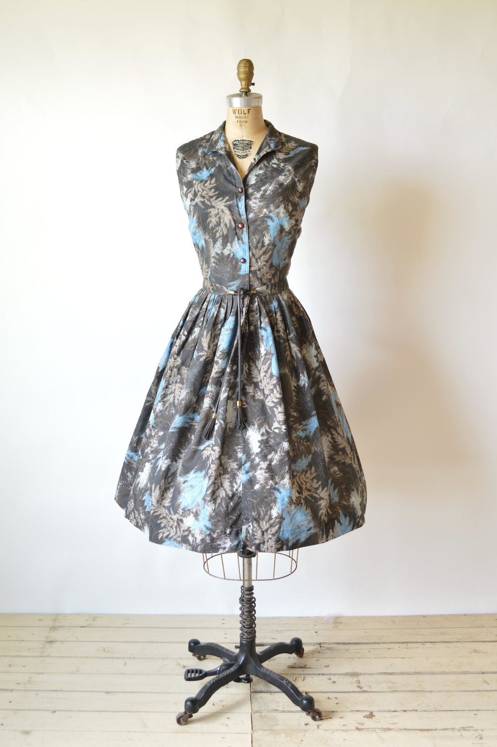 1950s Forest Waltz Dress