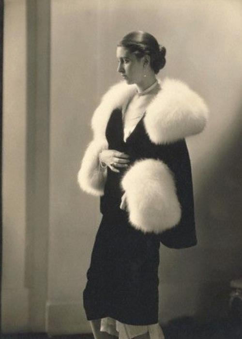 Marion Morehouse wearing Agnes, 1927 © Condé Nast Archive/Corbis.