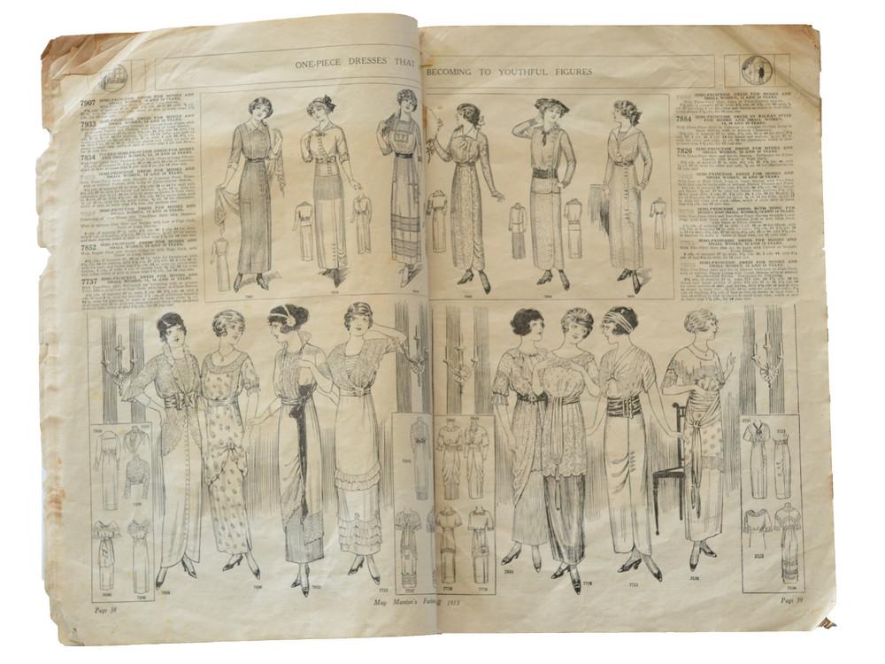 May Manton Fashion Book