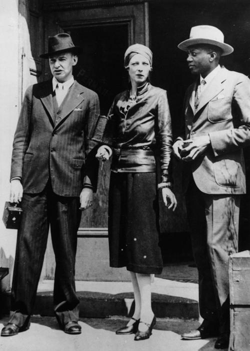 Style icon Nancy Cunard, 1920s