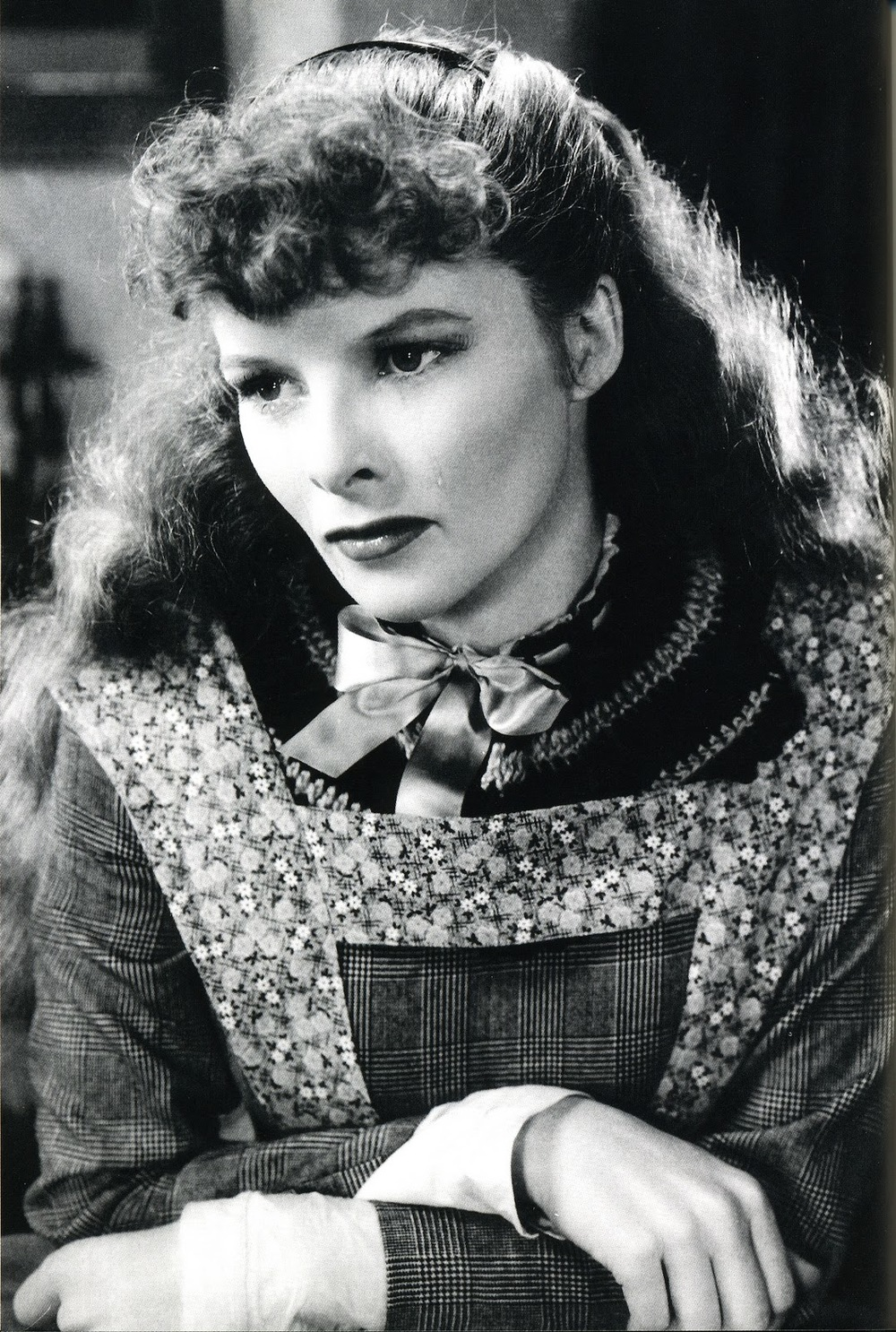 Katharine Hepburn as Jo March in Little Women