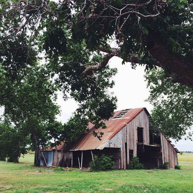 Beautiful old barn in Texas.